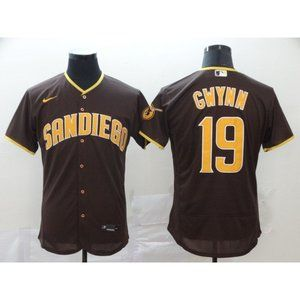 San Diego Padres Tony Gwynn Brown Elite Jersey